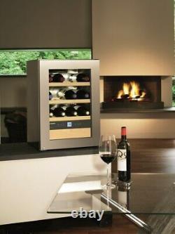 Liebherr WKES653 43cm Freestanding Wine Cooler 12 Bottles Stainless Steel