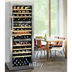 Liebherr WTes5872 Vinidor Multi-Zonal Wine Cooler 178 Bottle Stainless Steel