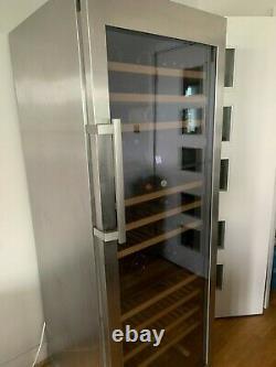 Liebherr freestanding vinidor triple zone wine cooler Used Holds 178 bottles