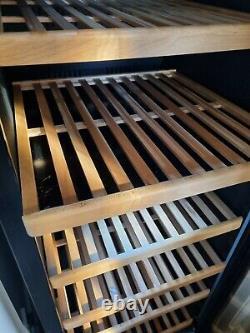 MQuvee freestanding wine cooler cabinet 180 bottle capacity 61 x 183 x 69 cm