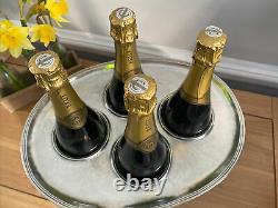 Marinoni (Italian) Pewter Champagne Basin Bowl Ice Cooler Bucket 4 Bottle Wine