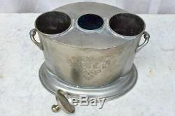 Mid century French wine cooler 2 bottle capacity'Grands Crus