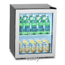 Mini Commercial Beverage Cooler Bottle Cooler Beer Wine Fridge Drinks Fridge 54L