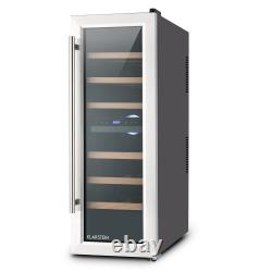 Mini fridge wine cooler mini bar Refrigerator 65 L 21 bottles Home cooling LED