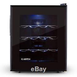 Mini fridge wine cooler refrigerator 48 litre beer 16 Bottles beverage chiller