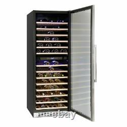 Montpellier Freestanding Wine Cooler 181 Bottle Capacity Dual-Zone WC181X
