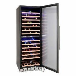 Montpellier WC166X, 166 Bottle Dual-Zone Wine Cooler