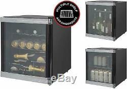 Multiple Shelf 12 Bottle Drinks Cooler for Wine Beer Mini Fridge Drinks Chiller