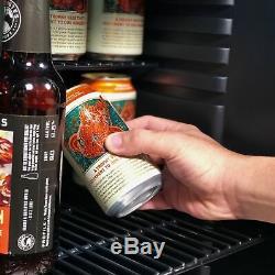 NEW Newair AB-1200X 126-Can BEVERAGE COOLER Beer Wine Bottle Holder Mini Fridge
