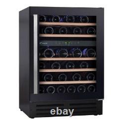 New CANDY CCVB 60D UK 60cm Wine Cooler 46 Bottle Black COLLECTION