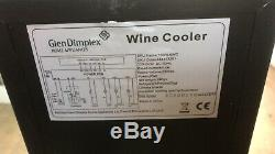 New Glen Dimplex 150mm Black 7 Bottle Wine Cooler DELIVERY AVAILABLE