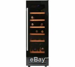 New Graded Belling 300blkwc 30cm 18 Bottle Wine Cooler- Free Uk Delivery