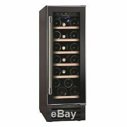 New Hoover HWCB30UK 30cm Wide 19 Bottle Wine Cooler Black COLLECT
