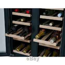New Hoover HWCB60D UK Integrated 38 Bottle Black Wine Cooler COLLECT