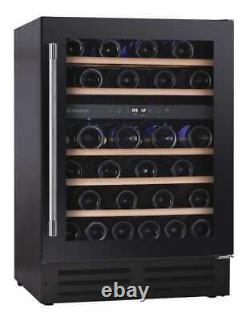 New Hoover HWCB60DUKBM Black 60cm 38 Bottle Wine Cooler COLLECTION