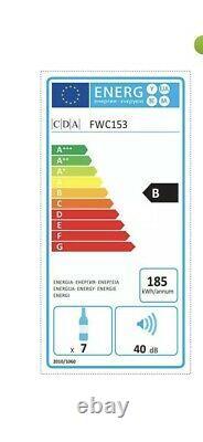 New Sliver Cda Fwc153ss Wine Cooler 7 Bottle Capacity