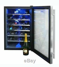 Newair Thermo 28 Bottle Wine Cooler Digital Control & Freestanding #AW-281E