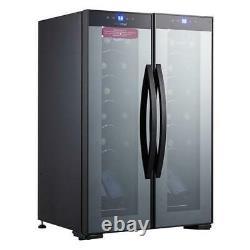 NutriChef PKCWC240 24 Bottle Wine Cooler Refrigerator withDigital Control