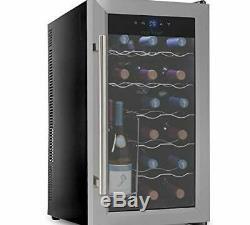 Nutrichef Thermoelectric 18 Bottle Wine Cooler Refrigerator Kitchen PKTEWC18