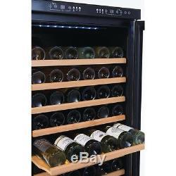 Polar Dual Zone Bottle Wine Cooler Chiller 155 Bottles 595Wx680Dx1805Hmm