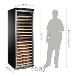 Polar Dual Zone Wine Cooler St/St Door with lock 155 Bottle