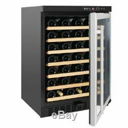 Polar Undercounter Wine Cooler with Stainless Steel Door 54 Bottles