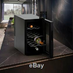 Professional wine cooler fridge 8 bottles for personal and companies use Bacchus