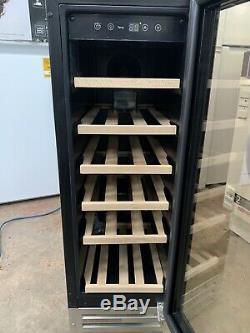 Refurbished Glen Dimplex 300SSWC 30cm 20 Bottle Capacity Wine Cooler- Silver
