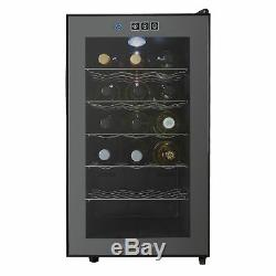 Refurbished Thermoelectric Wine Cooler, Cookology CW18BK 18 Bottle, Less Noise