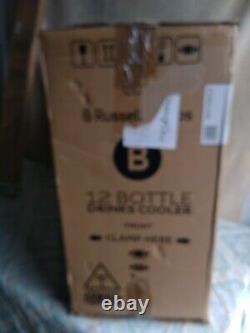 Russell Hobbs RH12WC3 Free Standing B Wine Cooler Fits 12 Bottles Black New