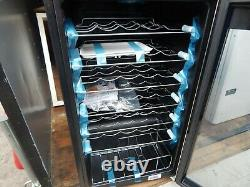 Russell Hobbs RH34WC1 34 Bottle Glass Door Wine Cooler