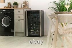 Russell Hobbs RH34WC1 34 Bottle Glass Door Wine Cooler Drinks Cooler