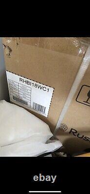 Russell Hobbs RHBI18WC1SS 18-Bottle Freestanding or Built In Wine Cooler