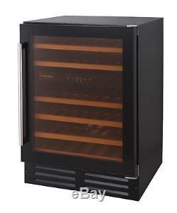 Russell Hobbs RHBI46DZWC1, Freestanding/Built In 46 Bottle Wine Cooler-Grade A+