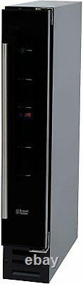 Russell Hobbs RHBI7WC1 7 Bottle Digital Display Wine/Drinks Cooler, Black