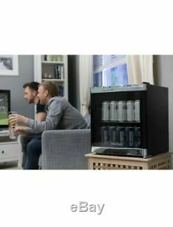 Russell Hobbs RHGWC1B Glass Bottle & Drinks Wine Cooler Black 47 Litre