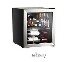 Russell Hobbs RHGWC3SS 12 Bottle Glass Door Wine Cooler Stainless Steel Grade A+