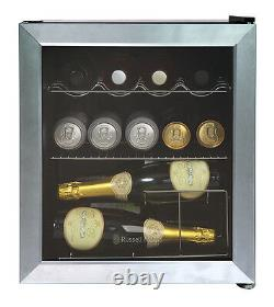 Russell Hobbs RHGWC3SS 12 Bottle Glass Door Wine Cooler Stainless Steel Grade B