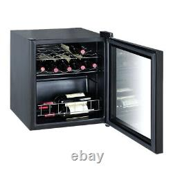 SMAD 15 Bottle Wine Cooler Undercounter Beverage Fridge 46L LED Touchscreen