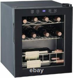 SMAD 16 Bottles Wine Fridge Beverage Cooler 46L Mini Fridge Beer Wine Drinks