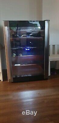 Samsung RW52DASS Black, Stainless Steel 52bottle (S) Wine Cooler Black, Stain
