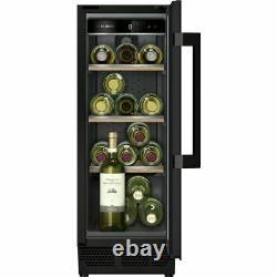 Siemens KU20WVHF0G IQ-500 Built In F Wine Cooler Fits 21 Bottles Black New