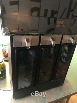 Skybar WP1000 3 Chamber Bottle Wine Preservation System Cooler Chills See Desc