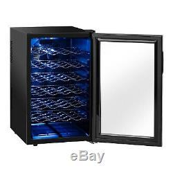 Small Wine Fridge Mini Drinks Refrigerator Cooler Chiller Hotel 80L 28 Bottles