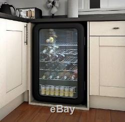 Swan Under Counter Bar Beer Wine Bottles Cans Fridge Cooler Chiller SR16220BN
