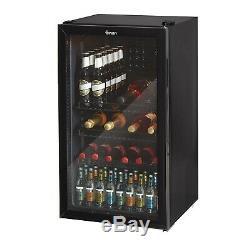 Swan Under Counter Chiller Cooler Fridge Beer Cans Bottles Wine Drinks SR13020BN