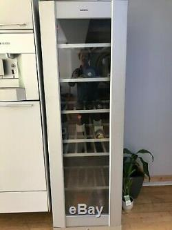 Tall Gaggenau Wine Cooler Fridge Free Standing 2 Zones 115 Bottle Capacity