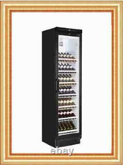 Tefcold Fs1380wb New Glass Door Wine Fridge Drink Bottle Cooler Next Day Delv