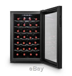 Thermoelectric 28 Bottle Wine Cooler Home Cellar Fridge Auto Defrost Efficient