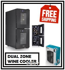Tristar WR7512 Dual Wine Cooler (12 Bottles)